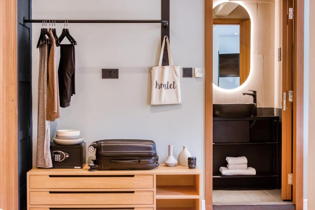 Hmlet @ Cantonment, Commercial, Interior Designer, Hmlet Interiors, Transitional, Retro, Vintage, Bedroom