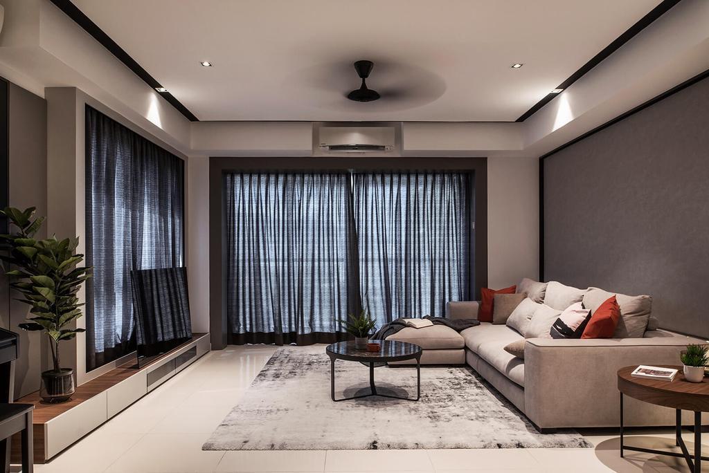 Contemporary, Condo, Platino, Gelugor, Interior Designer, Vault Design Lab Sdn Bhd