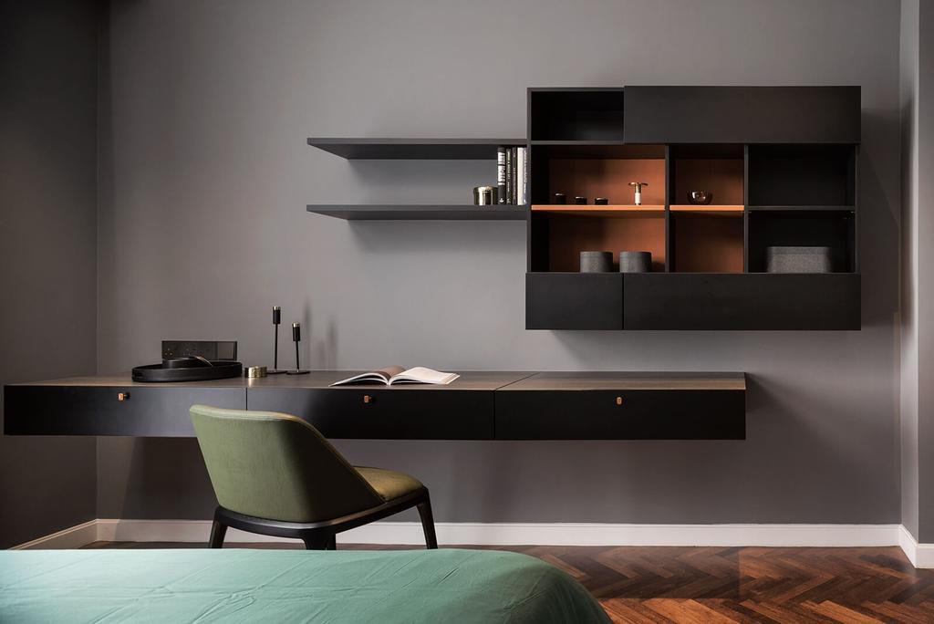 Condo, Bedroom, Verde Quayside, Tanjung Tokong, Interior Designer, Vault Design Lab Sdn Bhd