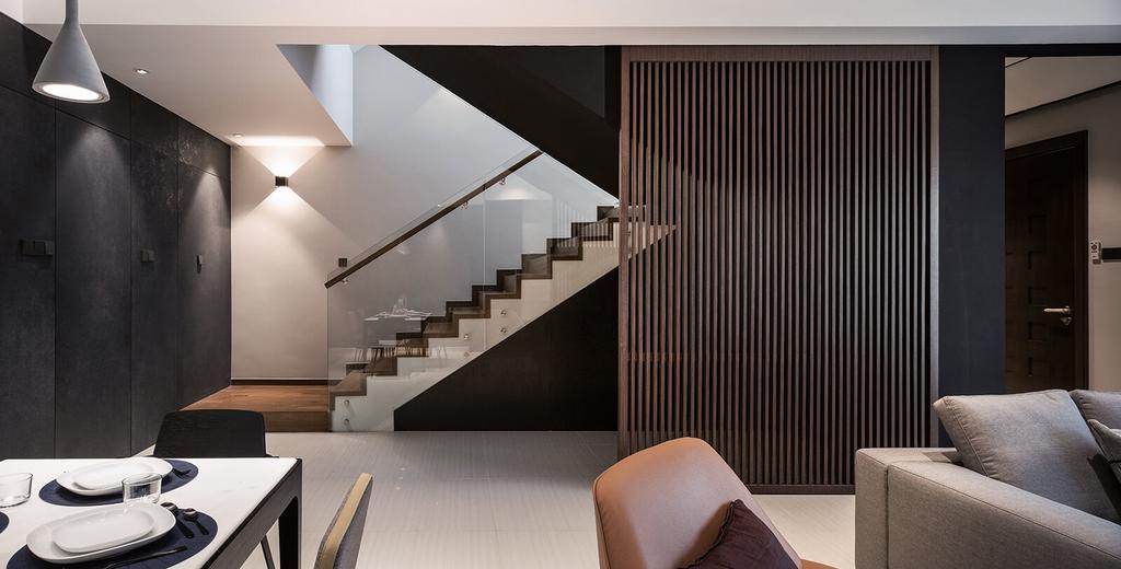 Modern, Landed, Permai Gardens, Tanjung Tokong, Interior Designer, Vault Design Lab Sdn Bhd, Contemporary