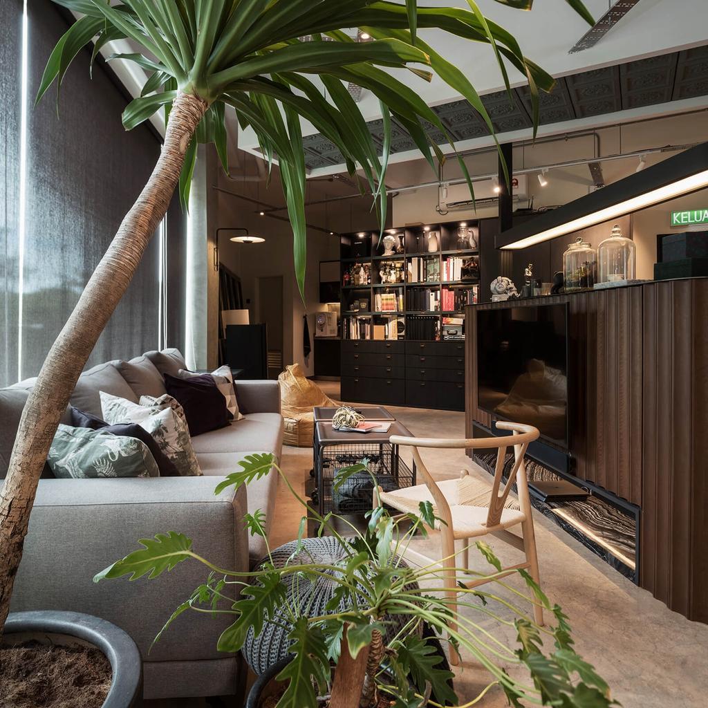 The Lattitude A, Tanjung Bungah, Commercial, Interior Designer, Vault Design Lab Sdn Bhd, Modern, Industrial