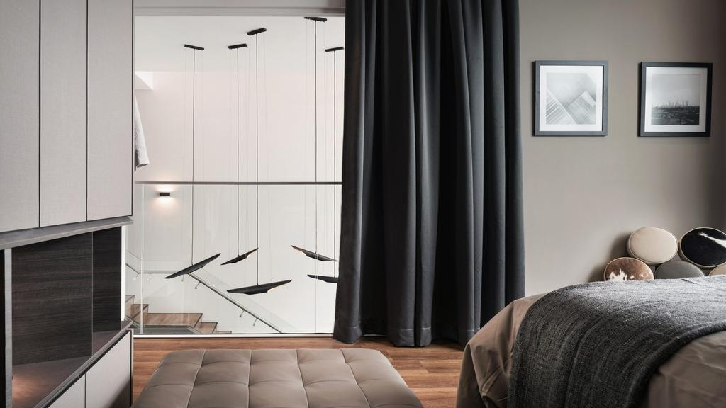 Modern, Landed, Bedroom, Scent Southbay Residence, Bayan Lepas, Interior Designer, Vault Design Lab Sdn Bhd, Contemporary