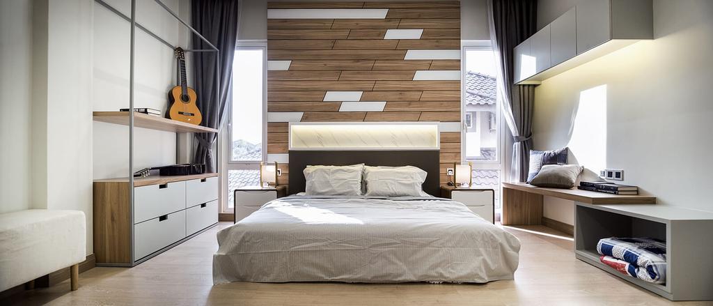 Contemporary, Landed, Bedroom, Taman Gunung Tahan, Alor Setar, Interior Designer, Vault Design Lab Sdn Bhd