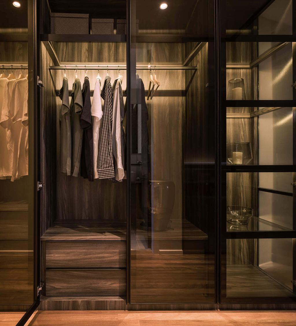 Modern, Landed, Bedroom, Raffel Tower, Pulau Pinang, Interior Designer, Vault Design Lab Sdn Bhd, Contemporary