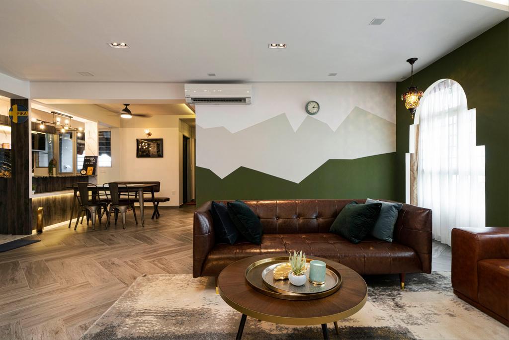 Modern, HDB, Living Room, Bukit Batok West Avenue 8, Interior Designer, Livspace, Eclectic