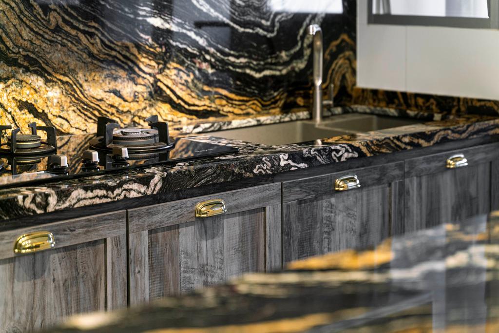 Modern, HDB, Kitchen, Bukit Batok West Avenue 8, Interior Designer, Livspace, Eclectic