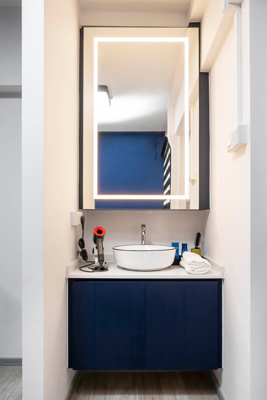 Modern, HDB, Bathroom, Hougang Avenue 1, Interior Designer, Livspace, Scandinavian