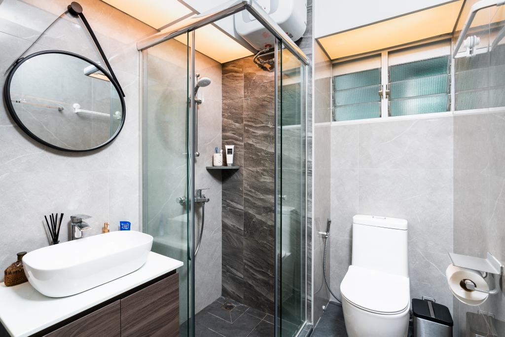 Contemporary, HDB, Bathroom, Bendemeer Road, Interior Designer, ChengYi Interior Design, Scandinavian