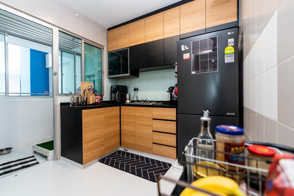 Contemporary, HDB, Kitchen, Bendemeer Road, Interior Designer, ChengYi Interior Design, Scandinavian