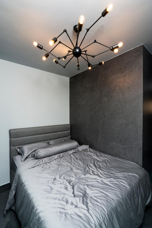 Contemporary, HDB, Bedroom, Rivervale Crescent, Interior Designer, ChengYi Interior Design