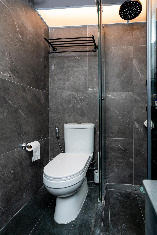 Contemporary, HDB, Bathroom, Rivervale Crescent, Interior Designer, ChengYi Interior Design