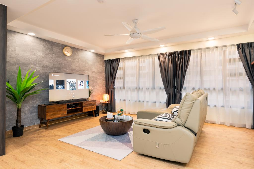 Contemporary, HDB, Living Room, Bukit Batok Street 41, Interior Designer, ChengYi Interior Design