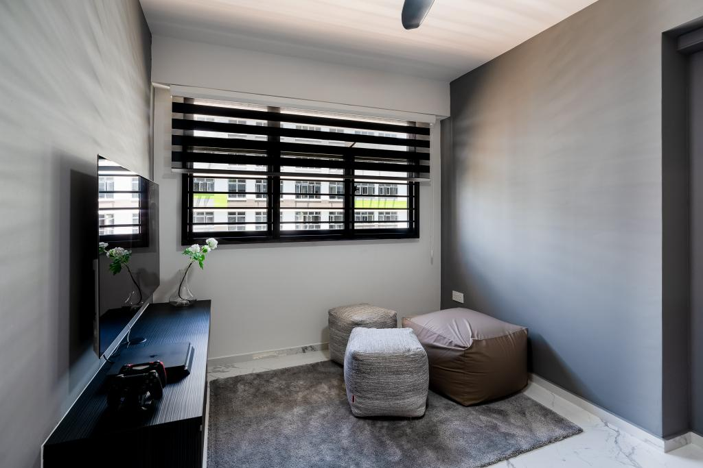 Contemporary, HDB, Study, Tampines North Drive 1, Interior Designer, ChengYi Interior Design