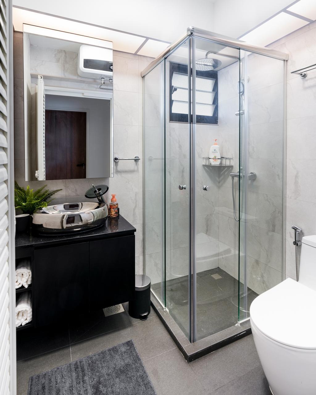 Contemporary, HDB, Bathroom, Tampines North Drive 1, Interior Designer, ChengYi Interior Design