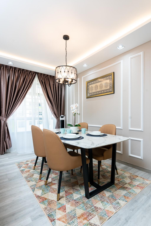 Contemporary, HDB, Dining Room, Tampines North Drive 1, Interior Designer, ChengYi Interior Design