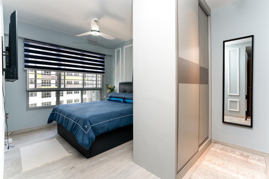 Contemporary, HDB, Bedroom, Tampines North Drive 1, Interior Designer, ChengYi Interior Design