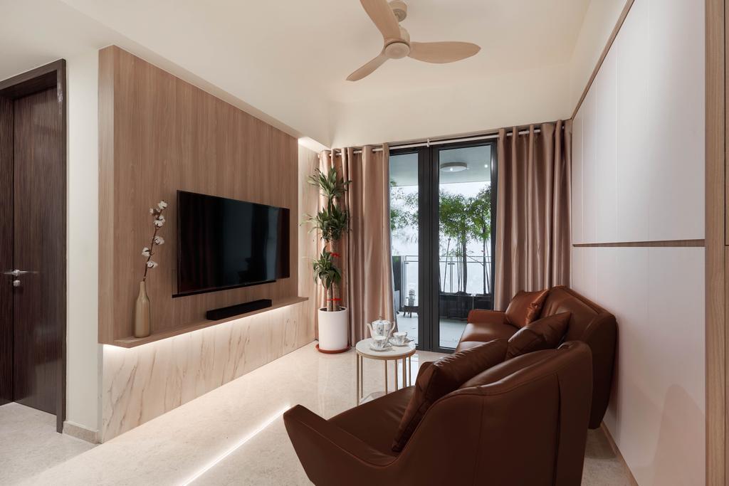 Contemporary, Condo, Living Room, 368 Thomson, Interior Designer, Archive Design, Modern
