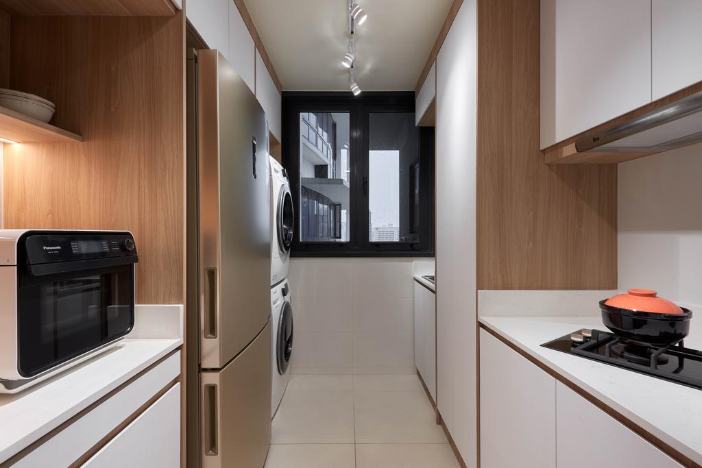 Contemporary, Condo, Kitchen, 368 Thomson, Interior Designer, Archive Design, Modern