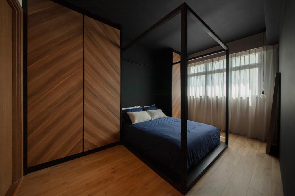 Modern, HDB, Bedroom, Bukit Batok West Avenue 6, Interior Designer, Aart Boxx Interior, Industrial