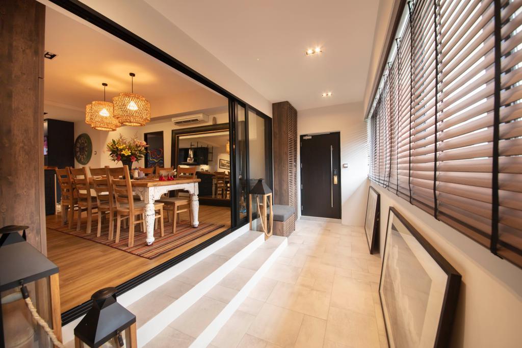Contemporary, HDB, Balcony, Woodlands Street 13, Interior Designer, Aart Boxx Interior, Eclectic