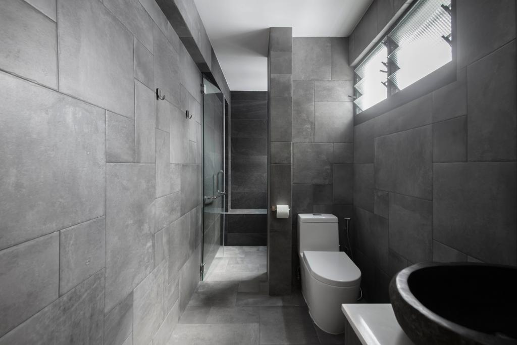 Contemporary, HDB, Bathroom, Woodlands Street 13, Interior Designer, Aart Boxx Interior, Eclectic
