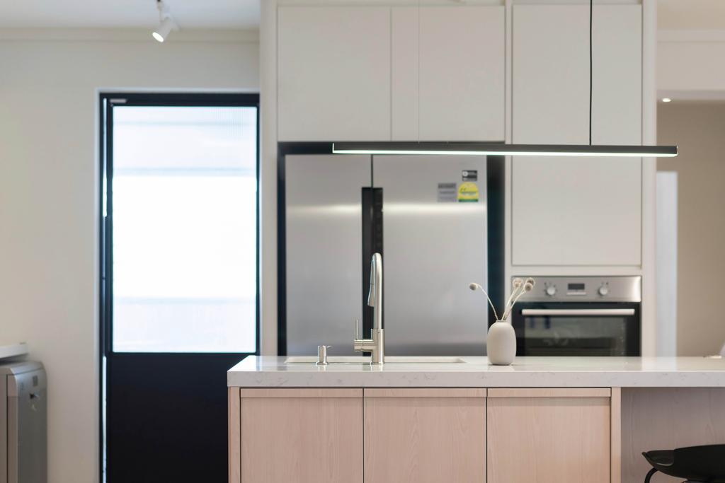 Minimalistic, HDB, Kitchen, Bukit Panjang Ring Road, Interior Designer, Authors • Interior & Styling