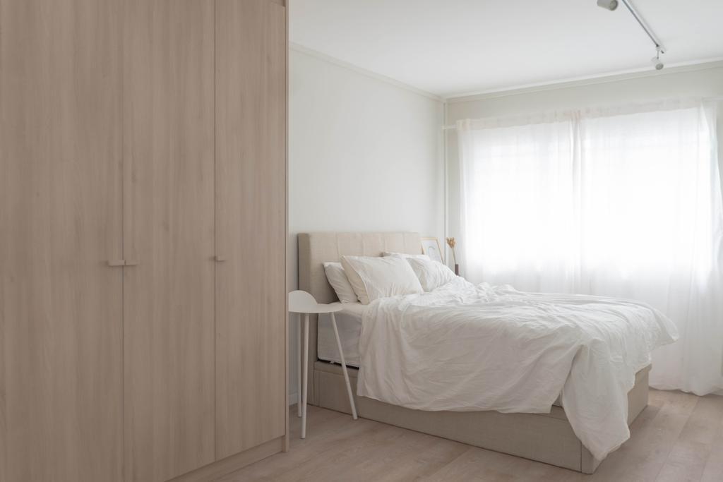 Minimalistic, HDB, Bedroom, Bukit Panjang Ring Road, Interior Designer, Authors • Interior & Styling