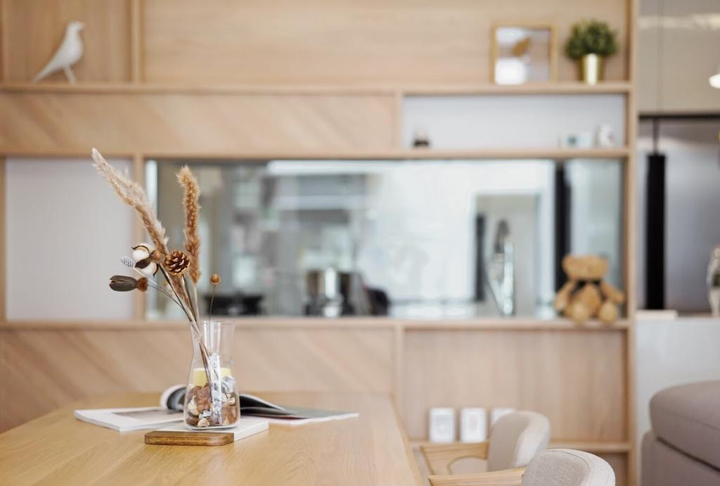 Scandinavian, Condo, Dining Room, Toh Tuck Road, Interior Designer, Authors • Interior & Styling