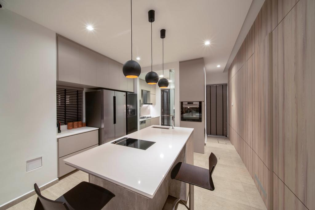 Contemporary, Landed, Kitchen, Begonia Walk, Interior Designer, Dyel Design