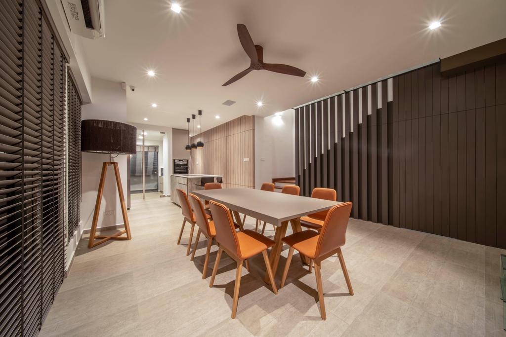 Contemporary, Landed, Dining Room, Begonia Walk, Interior Designer, Dyel Design
