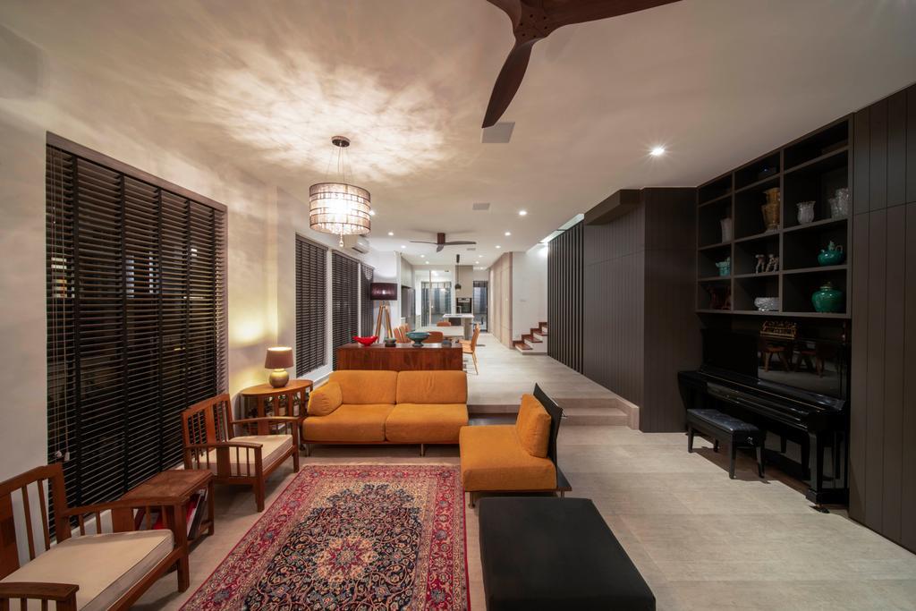 Contemporary, Landed, Living Room, Begonia Walk, Interior Designer, Dyel Design