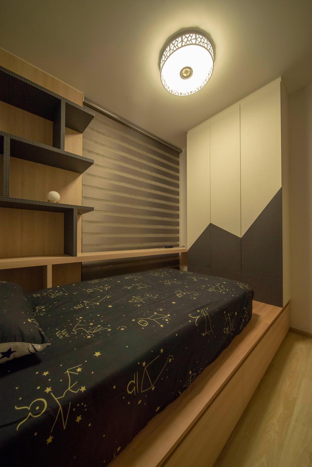 Modern, Condo, Bedroom, The Wisteria, Interior Designer, Dyel Design, Industrial