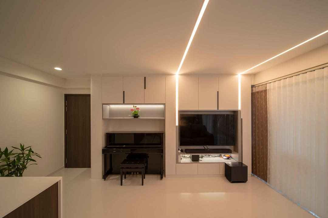 North Park Residences Living Room Interior Design 1