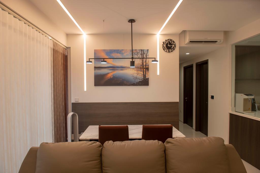 Modern, Condo, Dining Room, North Park Residences, Interior Designer, Dyel Design, Contemporary