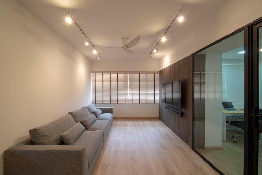 Modern, HDB, Living Room, Serangoon Avenue 1, Interior Designer, Dyel Design, Scandinavian
