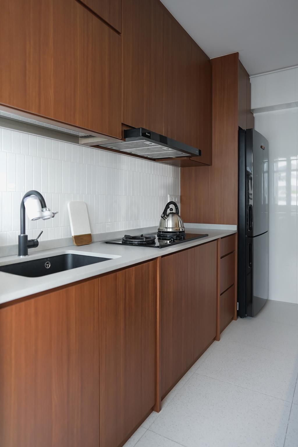 Contemporary, HDB, Tampines Street 61, Interior Designer, Authors • Interior & Styling