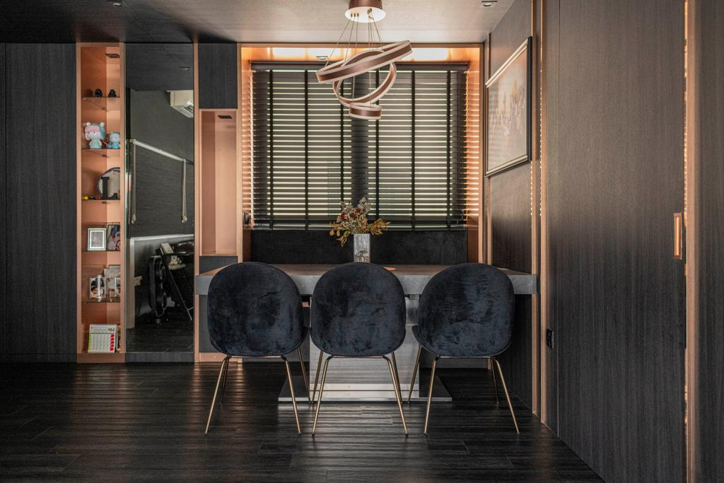 Contemporary, Condo, North Park Residences, Interior Designer, Fifth Avenue Interior