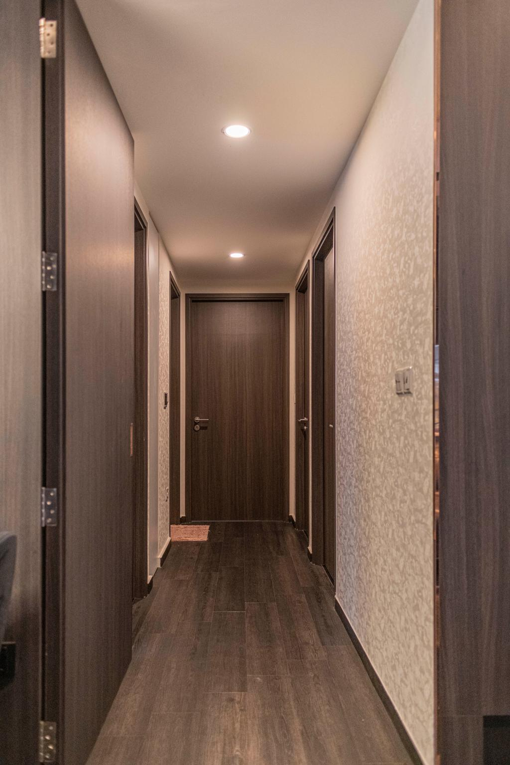 Contemporary, Condo, Living Room, North Park Residences, Interior Designer, Fifth Avenue Interior