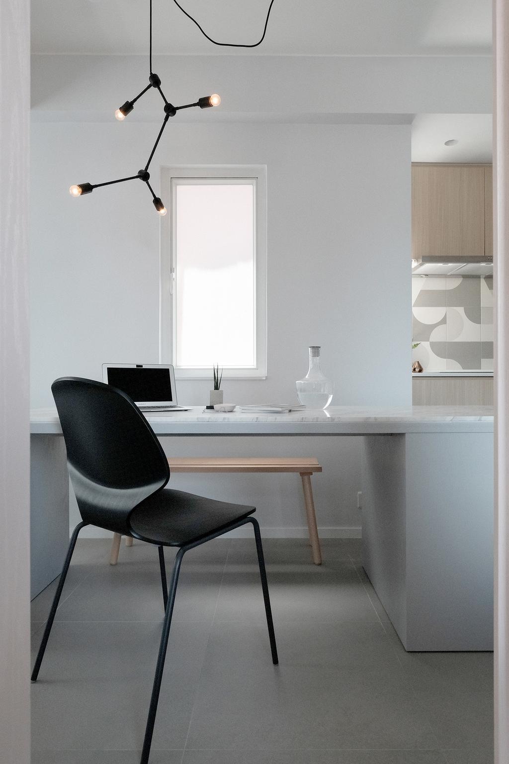 當代, 私家樓, 飯廳, 西灣河, 室內設計師, Studio Roof