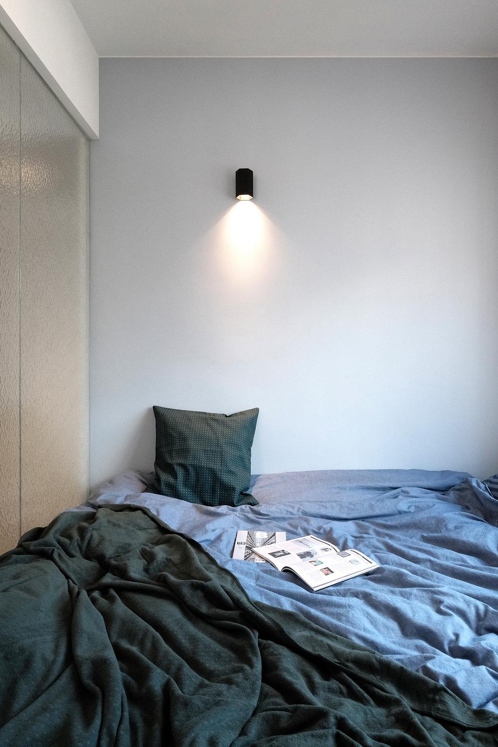 當代, 私家樓, 睡房, 西灣河, 室內設計師, Studio Roof