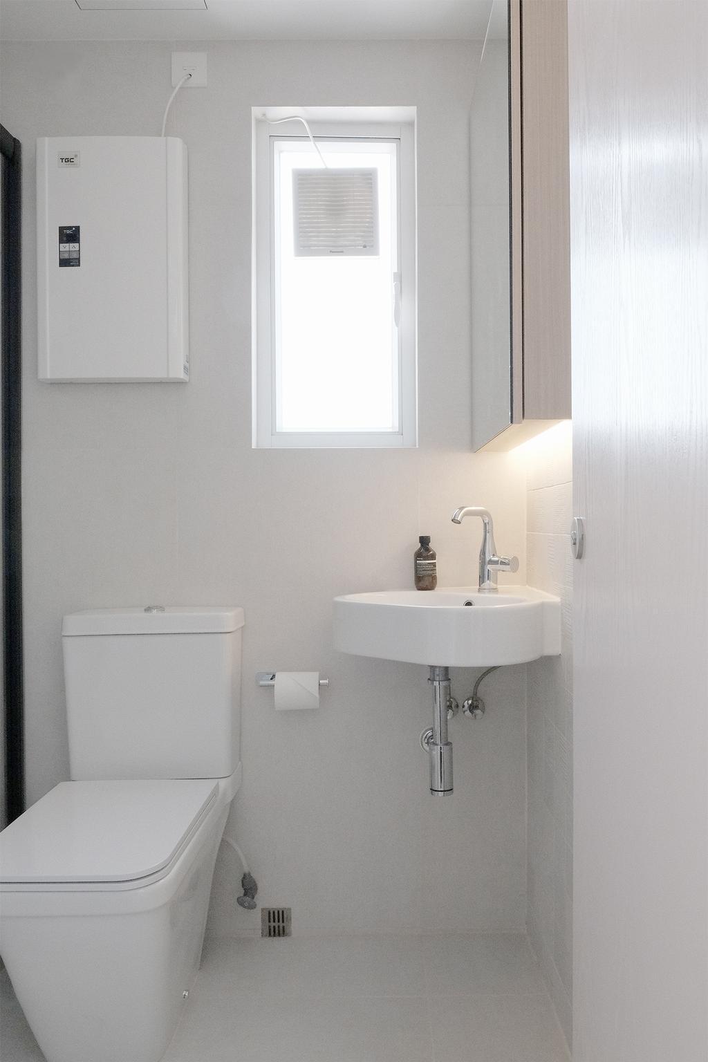 當代, 私家樓, 浴室, 西灣河, 室內設計師, Studio Roof