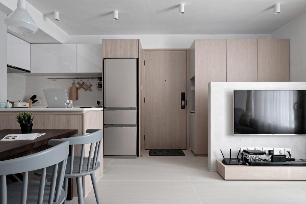 當代, 私家樓, 客廳, 新元朗中心, 室內設計師, Studio Roof