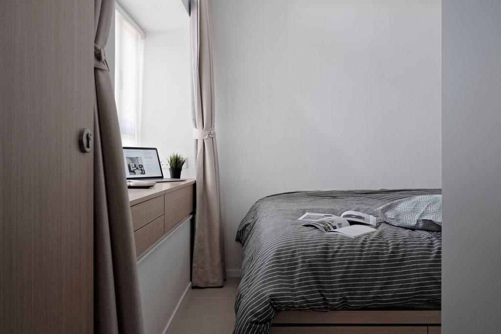 當代, 私家樓, 睡房, 新元朗中心, 室內設計師, Studio Roof