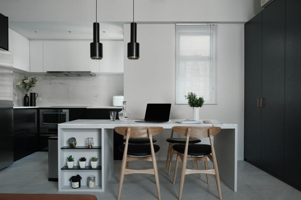簡約, 私家樓, 飯廳, 朗晴居, 室內設計師, Studio Roof