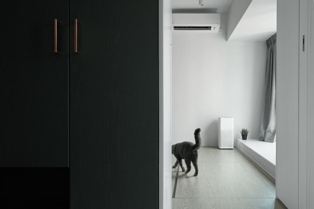 簡約, 私家樓, 睡房, 朗晴居, 室內設計師, Studio Roof