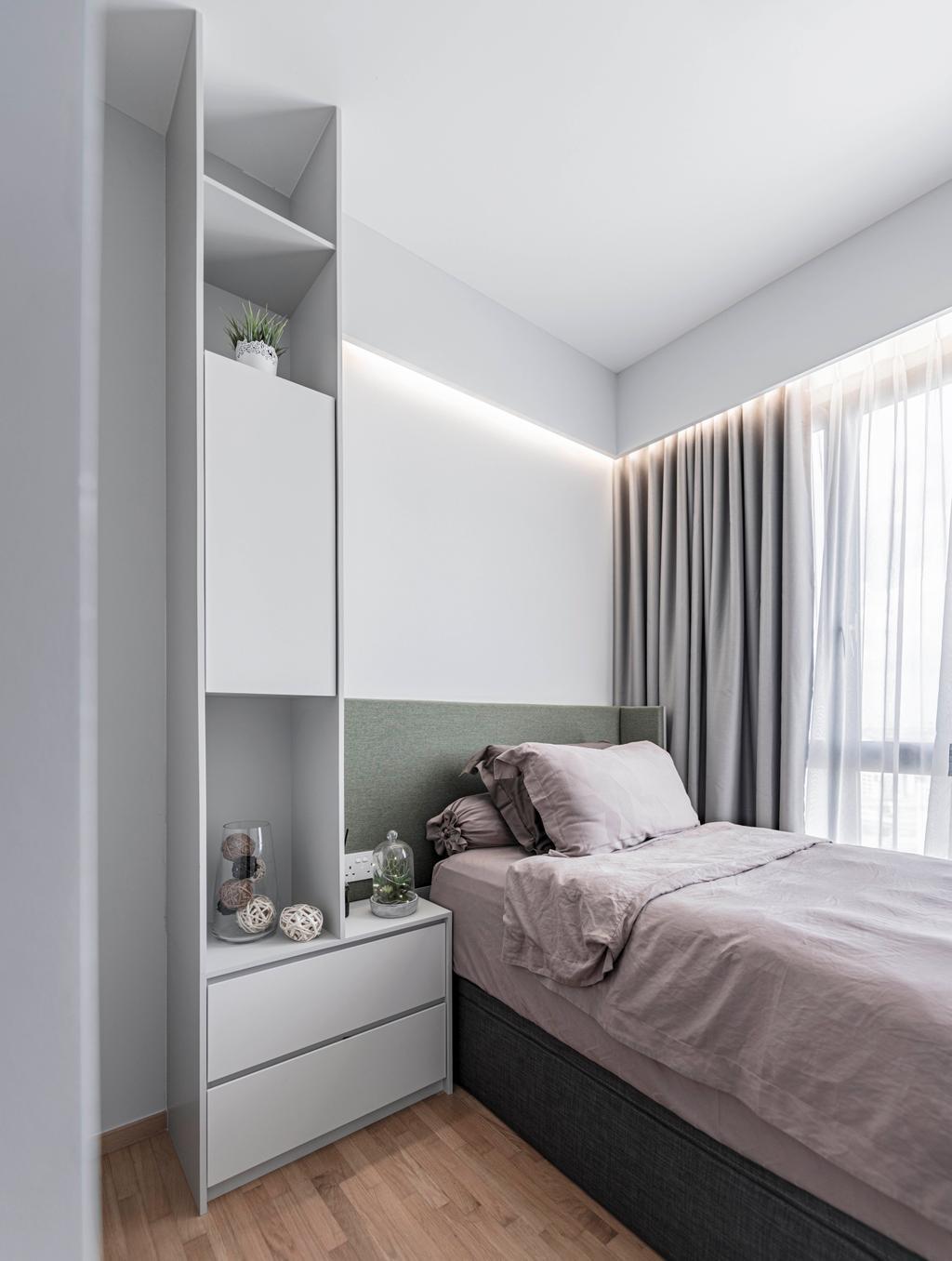 Contemporary, Condo, Bedroom, The Clement Canopy, Interior Designer, erstudio