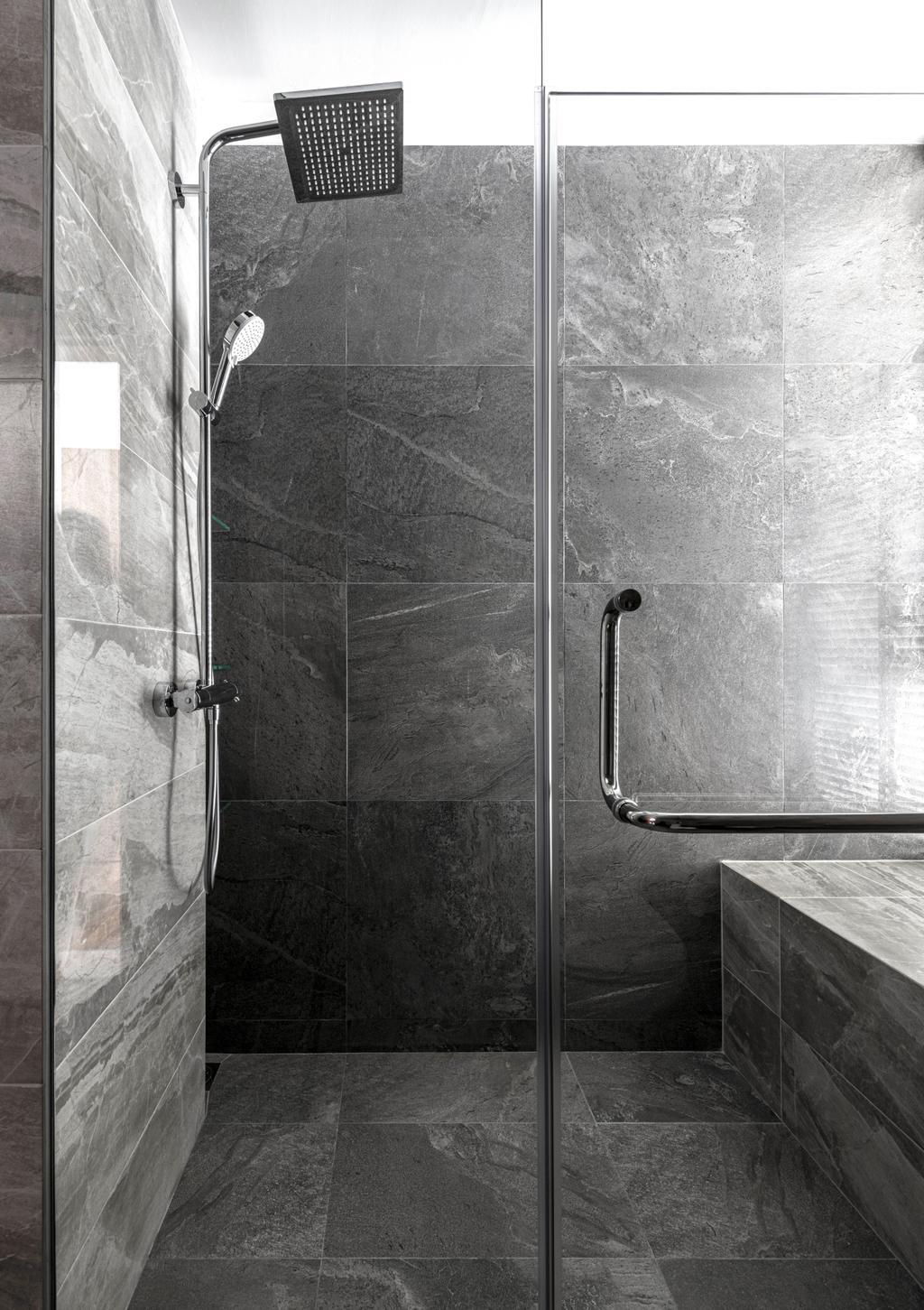 Industrial, Condo, Bathroom, Park Natura, Interior Designer, erstudio, Contemporary