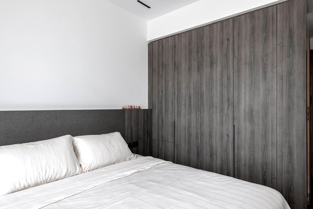 Industrial, Condo, Bedroom, Park Natura, Interior Designer, erstudio, Contemporary