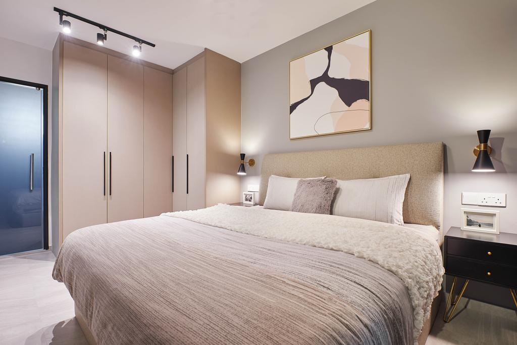Contemporary, HDB, Bedroom, Edgedale Plains, Interior Designer, Jubilee Interior