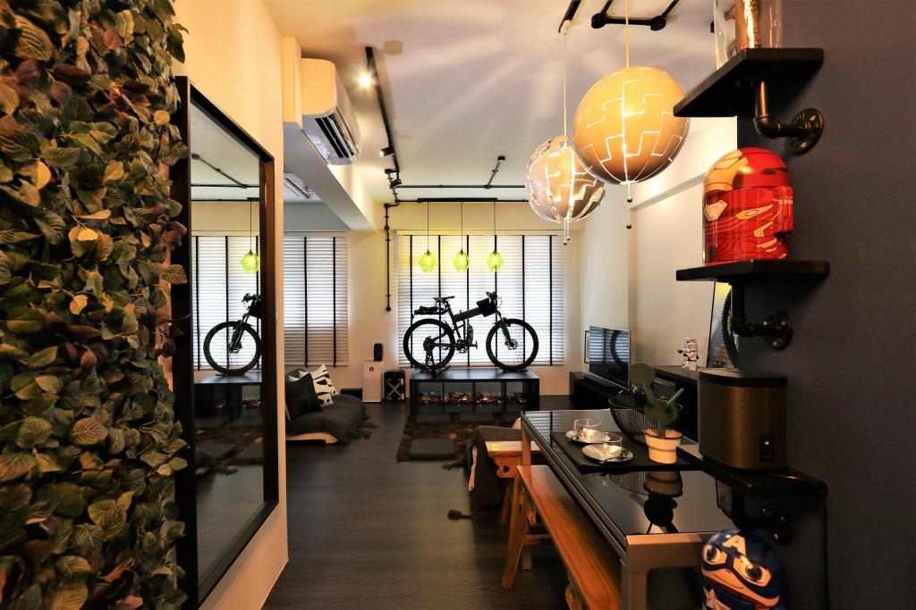 Modern, Condo, Dining Room, RV Residences, Interior Designer, D'Phenomenal, Industrial, Eclectic